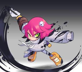 Ink Blade Girl