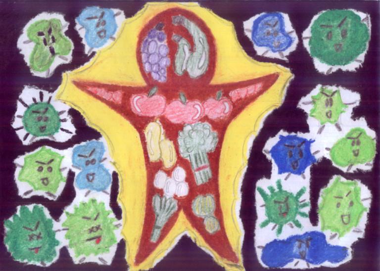 nutrition poster by bluesassinangel