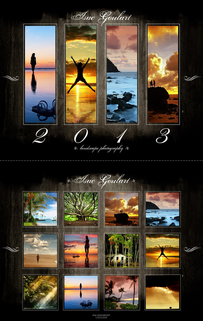 2013 Landscape Calendar by IsacGoulart
