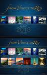 From Venice to Rio - 2013 Calendar