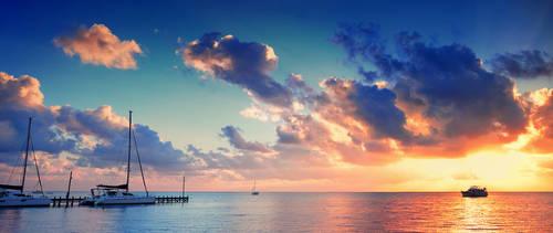 Belize Sky II by IsacGoulart