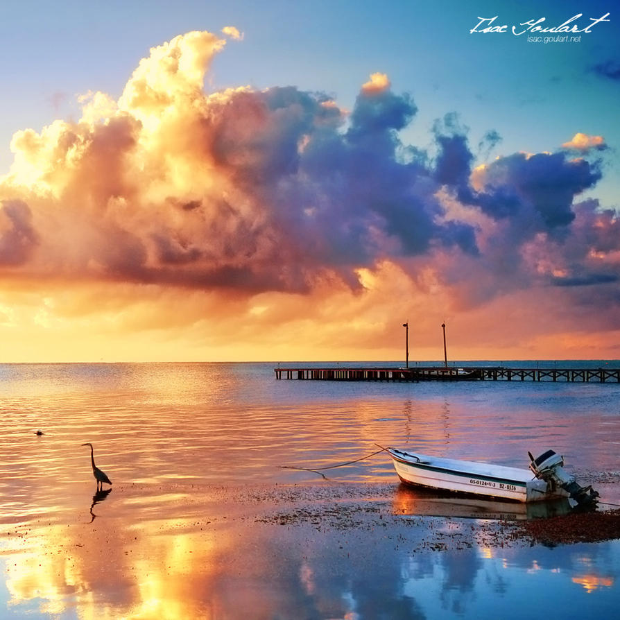 Belize Sky III by IsacGoulart