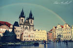 Rainbow in Prague