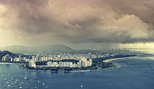 Rain in Rio by IsacGoulart