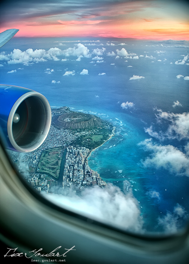 Window Seat to Hawaii by `IsacGoulart