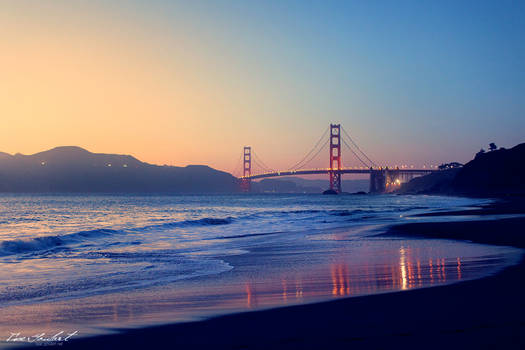 Golden Gate at Sunset