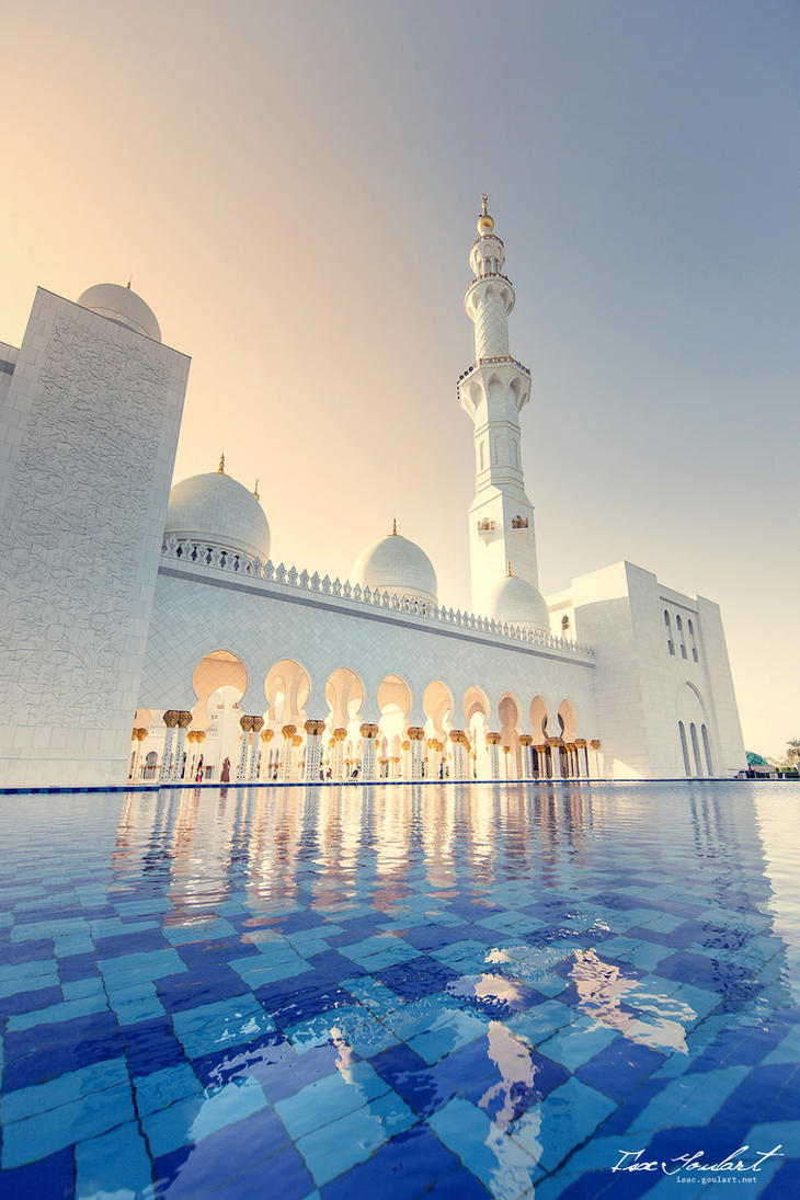Exterior: Sheikh Zayed Grand Mosque III By IsacGoulart On DeviantArt