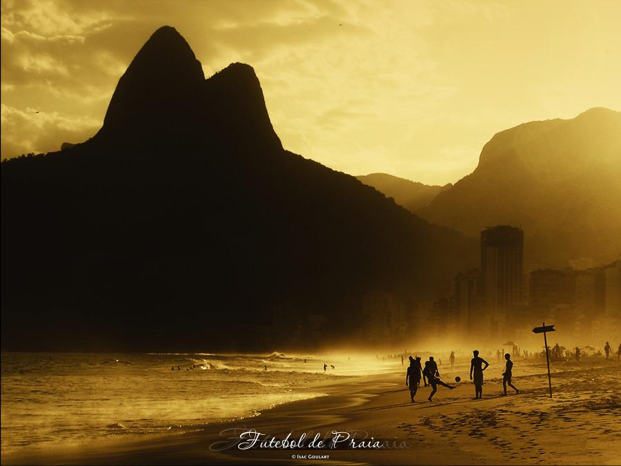 Futebol de Praia by IsacGoulart