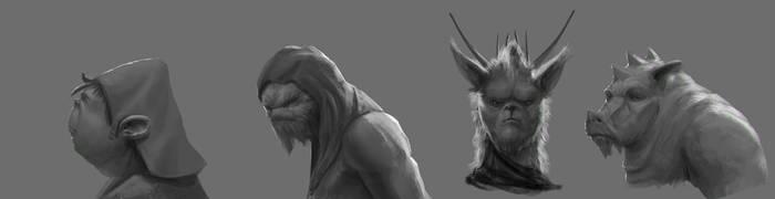 Creatures2 by JordiGart