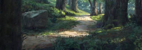 Forest Sketch by JordiGart
