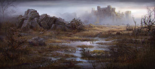 Castle by JordiGart
