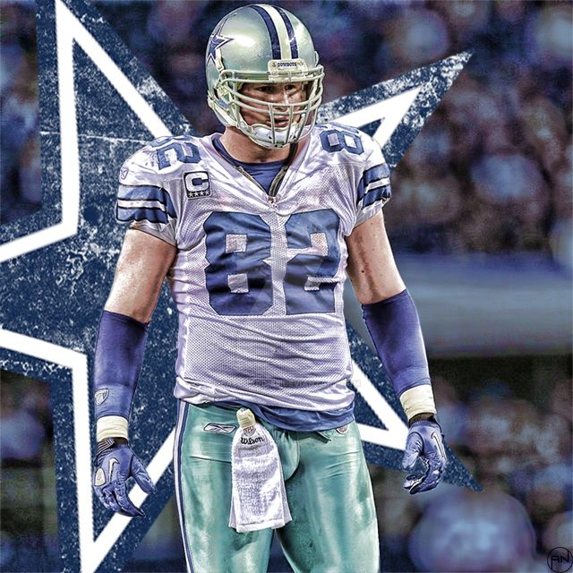 Dallas Cowboys #82 Jason Witten   America'-s Team Dallas Cowboys ...