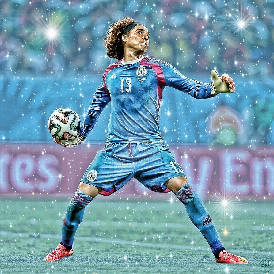 Guillermo ochoa by ballhard 88 on deviantart - Guillermo ochoa wallpaper ...
