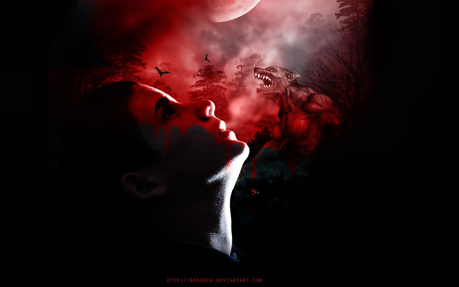 Red Full Moon Wallpaper Red Full Moon Dreams by