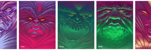 The Seven Deadly Sins by NickNP