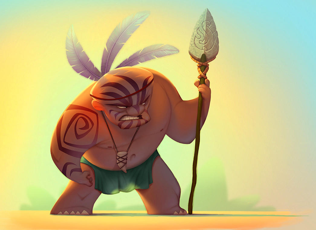 Maori warrior by NickNP