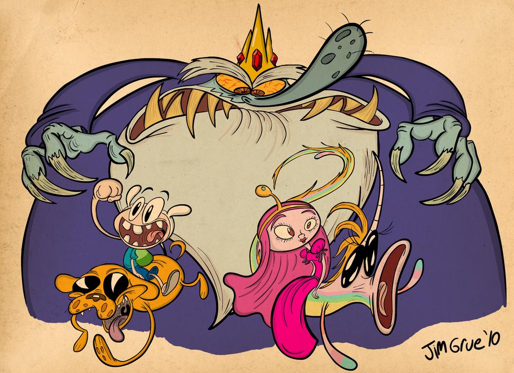 Adventure Time by HoekKadoogen