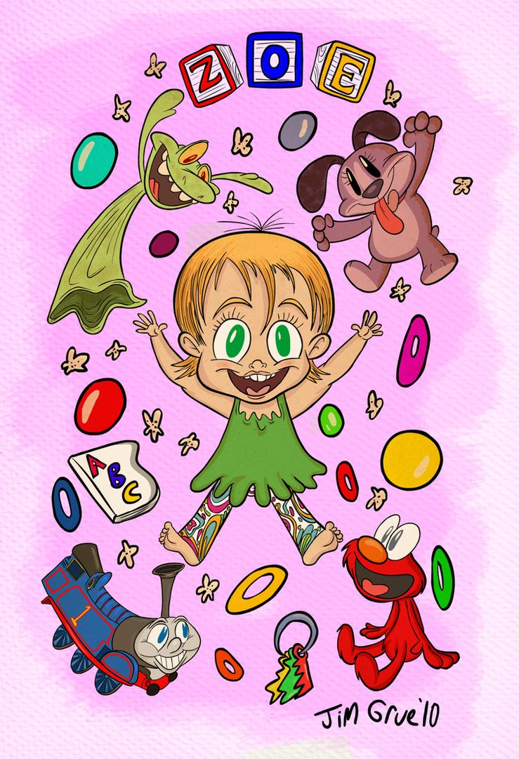 Happy Birthday Zoe By Hoekkadoogen On Deviantart