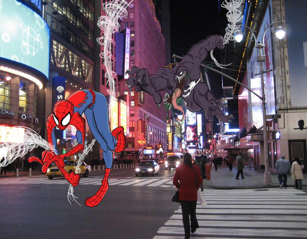 Spider Man Vs Venom by HoekKadoogen on DeviantArt