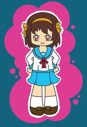 Suzumiya Haruhi no Kawaii by cosmo2389