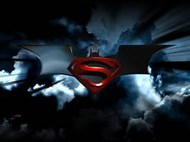 batman superman logo 2 by brcohen