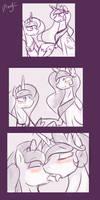 Princest! MLP episode 100 Mini-comic-sketch