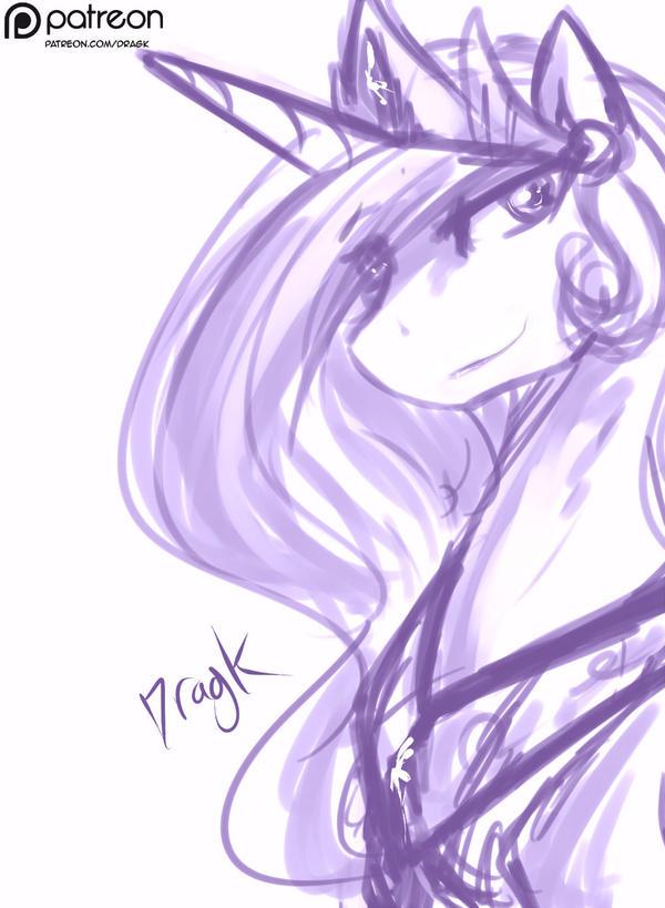 3 Princess Celestia By Dragk by Dragk