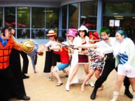 One Piece - ATTACKK by Miyukiko