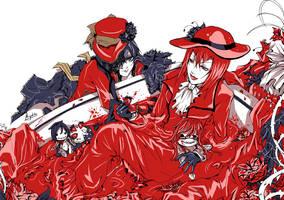 Kuroshitsuji - Flamboyant red by Miyukiko