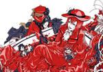 Kuroshitsuji - Flamboyant red