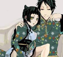 Kuroshitsuji - Ranmao and Lau by Miyukiko