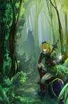 LoZ - Link by Miyukiko