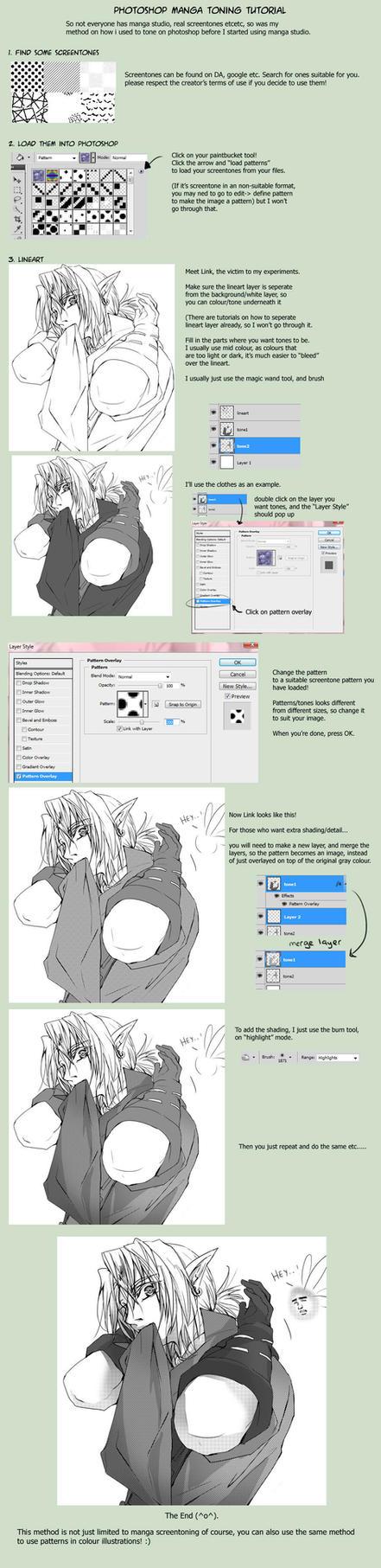 Photoshop toning tutorial by Miyukiko