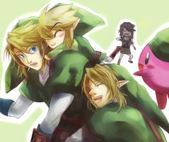 LoZ - We love Link by Miyukiko