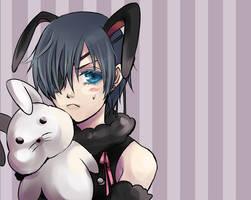 Kuroshitsuji - Kuro Bunny by Miyukiko