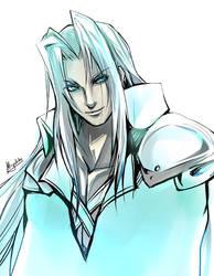 FF7 - Sephiroth by Miyukiko