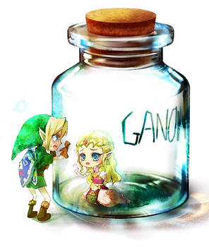 OoT - Bottled Princess