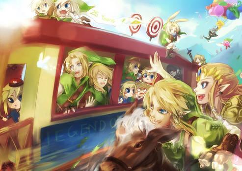 25 years Legend of Zelda