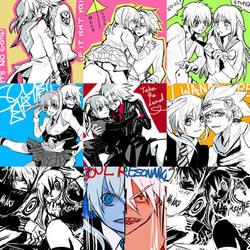 Soul Eater - SouMaka junklog by Miyukiko