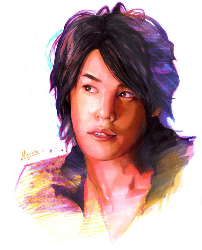 Copic Miyano Mamoru by Miyukiko