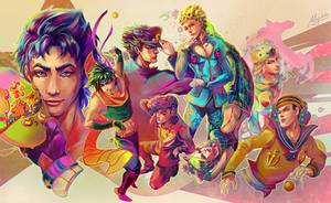 JoJo's Bizarre Adventure All Stars by Miyukiko