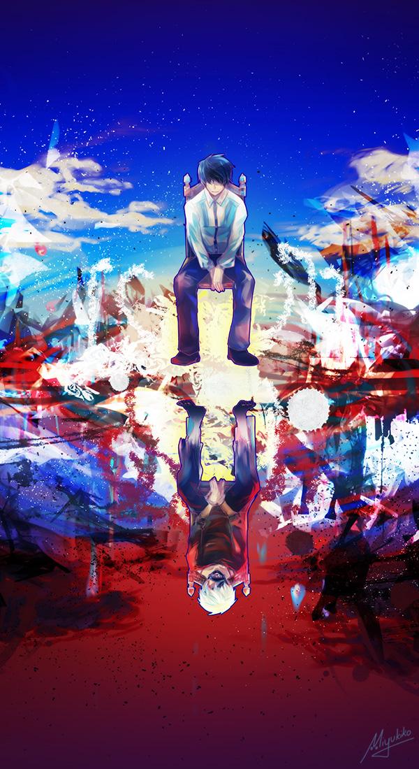 Tokyo Ghoul Calendar Art : Tokyo ghoul unravel by miyukiko on deviantart