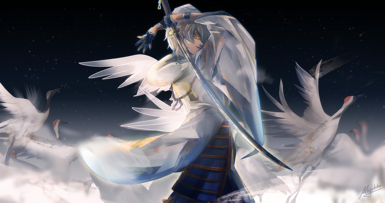 Anime Wallpapers Touken Ranbu HD 4K Download For Mobile iPhone & PC