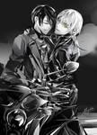 Touken Ranbu - Motorbike MikaTsuru