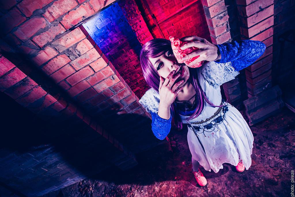 Tokyo Ghoul - Rize Kamishiro by Miyukiko