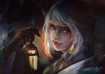 Devil Girl by Miyukiko