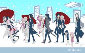 K Project - Hakumaitou Silver Clan timeline