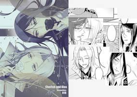 K Project web doujinshi - Cherish and Kiss (R18) by Miyukiko