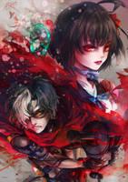 Koutetsujou no Kabaneri - Red by Miyukiko