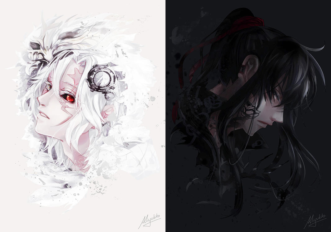 DGM - White Black by Miyukiko